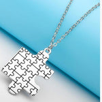 Autism Awareness Puzzle Piece Pendant - Unique Designing – Spread Awareness for Autism!