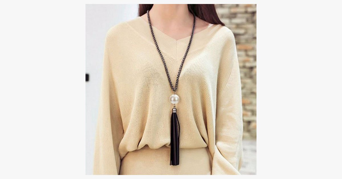 Classic Tassel Necklace
