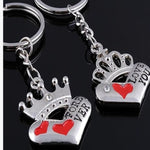 King and Queen Keychain