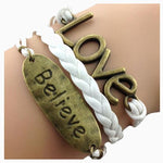 Believe Love Bracelet
