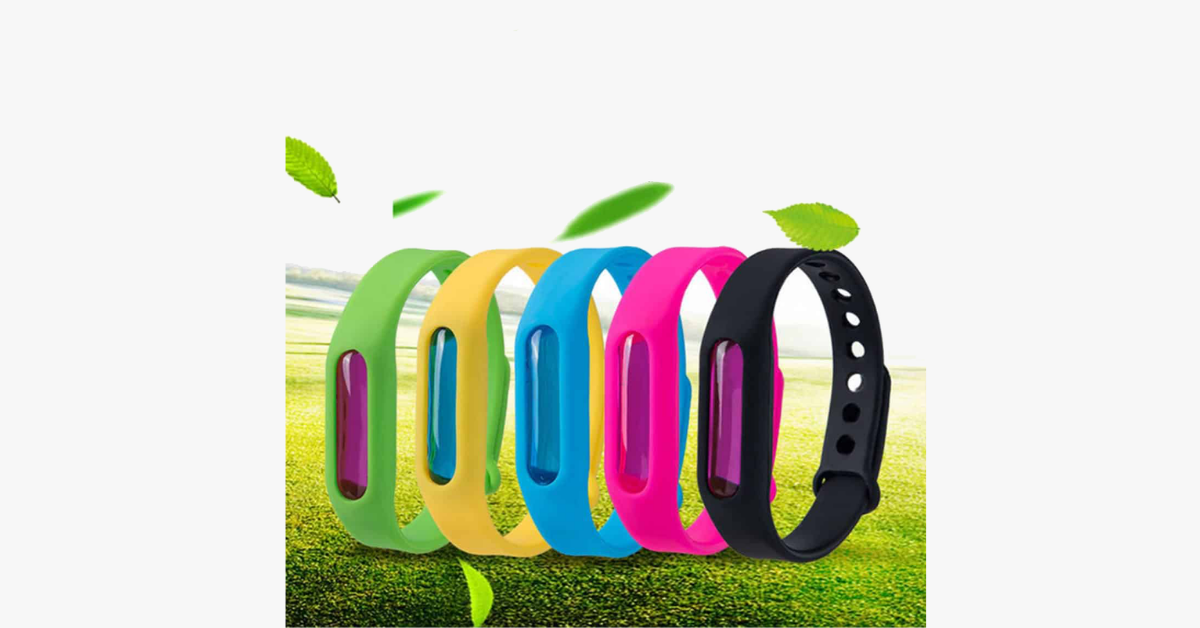 Mosquito repellent bracelet (5 Pack)