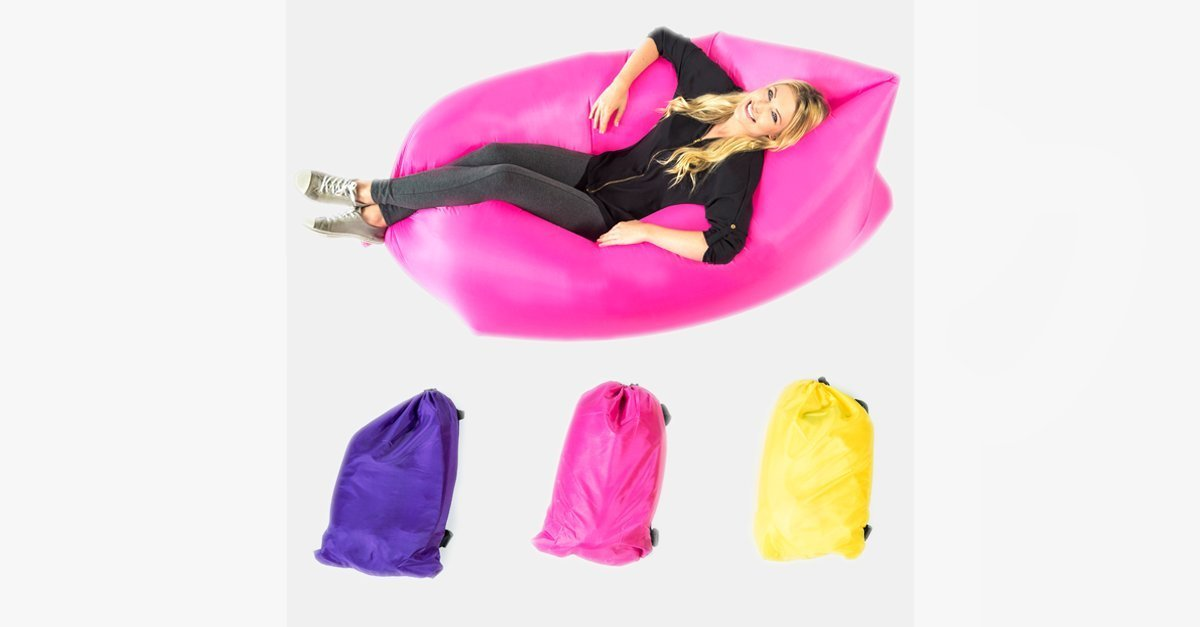 Inflatable Recliner – Your Anywhere Chair!