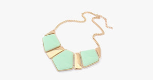 Candy Color Collar Statement Necklace