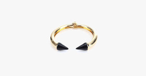 Black Love Arrow Bangle