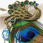 Peacock Feather Pendant