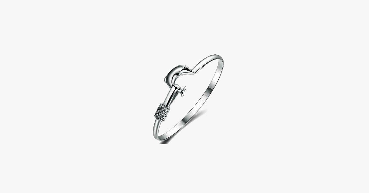 Dolphin Simple Bangle