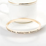 Positive Mind Bangle