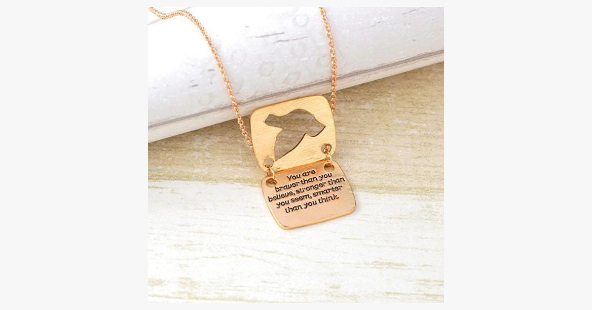 Dove Messenger Pendant
