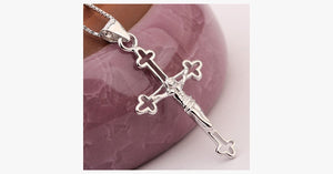 Cross Silver Pendant