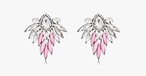 Pink Angel Stud Earrings