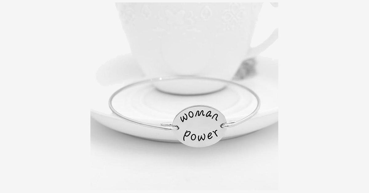 Woman Power Bangle