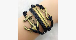 There's A Will There's A Way Bracelet