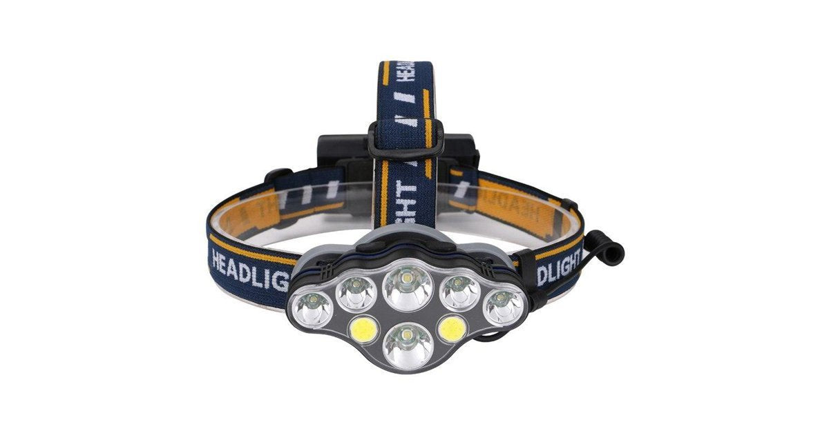 8 Led Super Bright Headlight