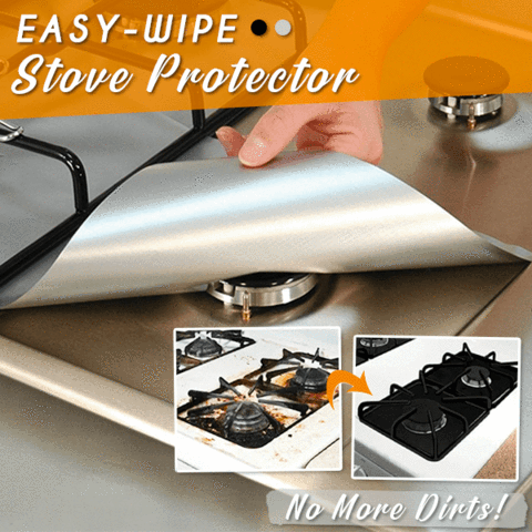 Easy-Wipe Stove Protector 4PCS
