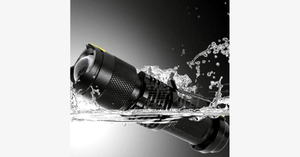 2000LM Waterproof Super Bright Adjustable Focus Tactical LED Flashlight