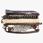 Multi-Layer Beads Leather Bracelet – An Accessory for Your Wrist, You Won't Forget