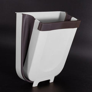 FOLDABLE AND MOUNTABLE RUBBISH BIN