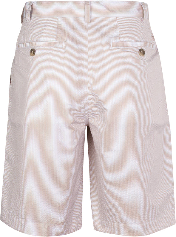 Men's Seersucker Golf Shorts