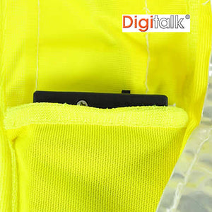 Solar Powered LED Vest