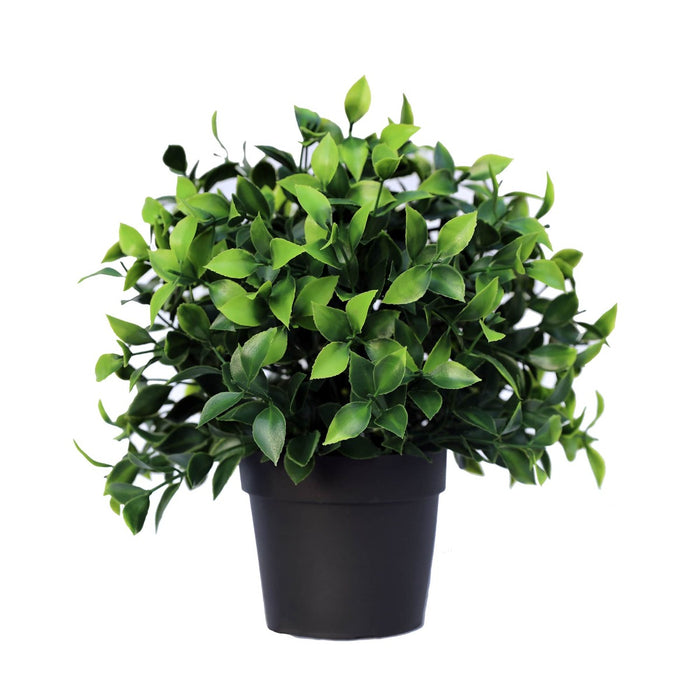 Small Potted Artificial Jasmine Plant UV Resistant 20cm