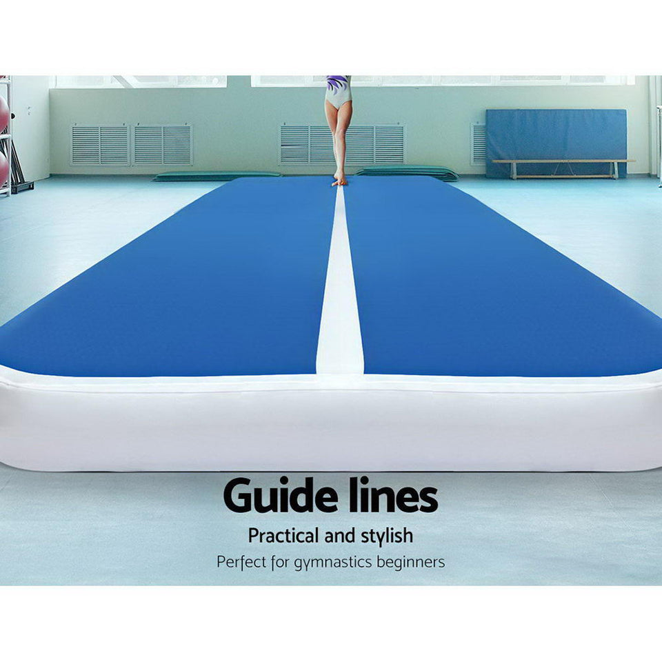 Everfit 6 X 2M Inflatable Gymnastics Track Mat