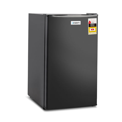 Devanti 95L Mini Bar Fridge - Black