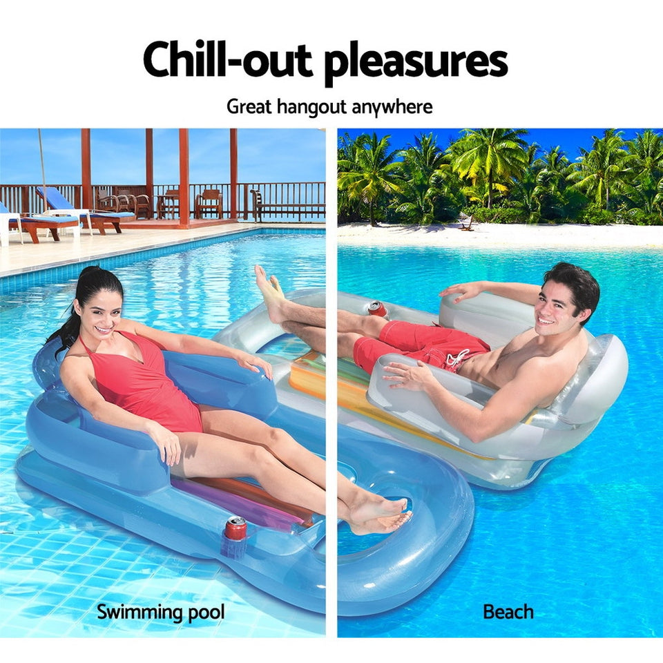 Bestway Inflatable Floating Float Floats Floaty Lounger Toy Pool Bed Seat Play
