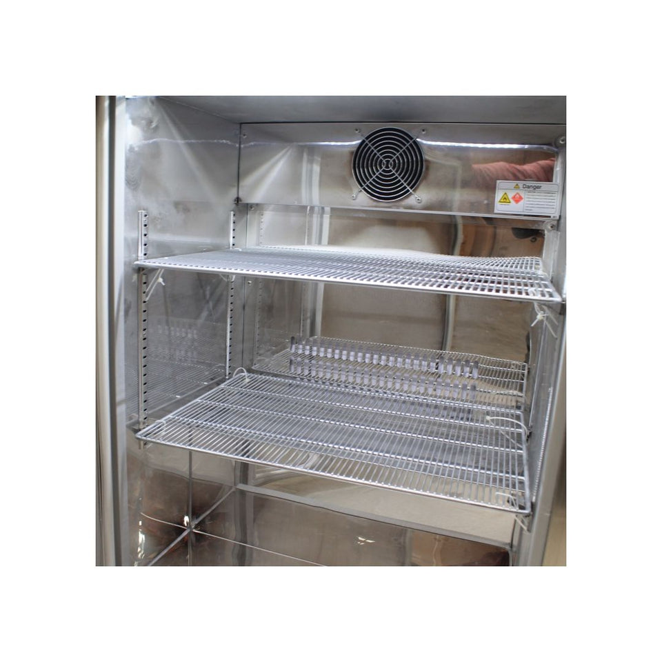 Rhino Stainless Steel 1 Door Solid Stainless Bar Fridge Right Hinged MODEL: SG1R-SD