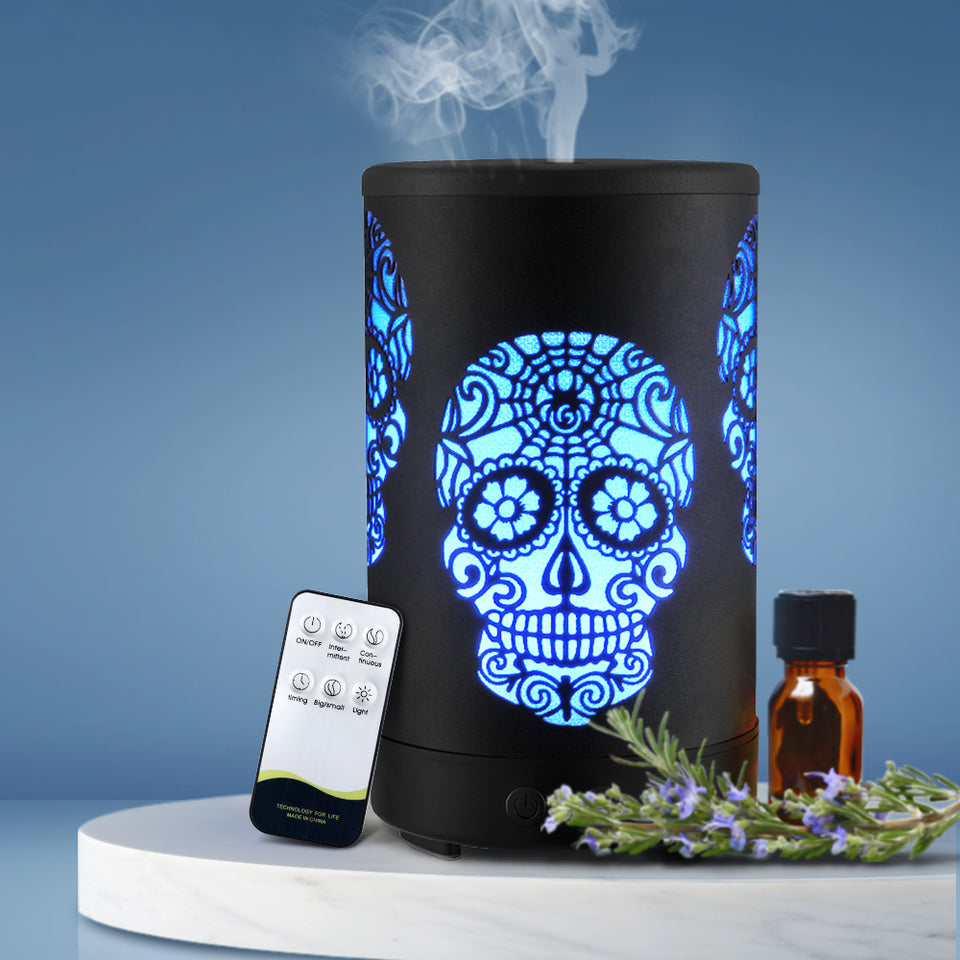 Devanti Ultraconic Aromatherapy Diffuser Aroma Oil Air Humidifier Halloween