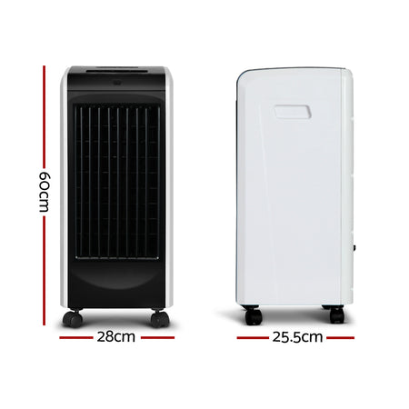 Devanti Evaporative Air Cooler - Black