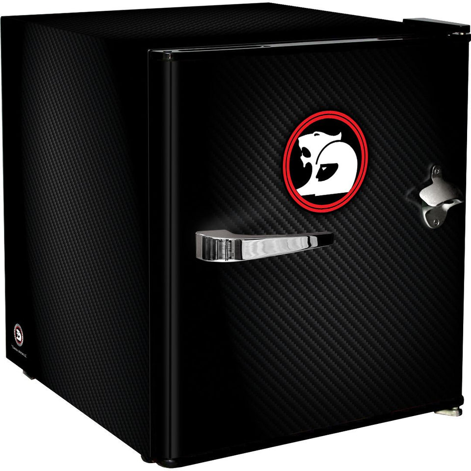 Holden HSV Retro Black Vintage Mini Bar Fridge 46 Litre Schmick Brand With Opener MODEL: HUS-BC46B-HSV