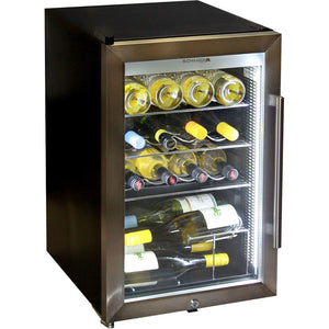 Schmick Tropical Triple Glazed Outdoor Alfresco Glass Door Bar Fridge 70 Litre MODEL: HUS-SC70L-SS