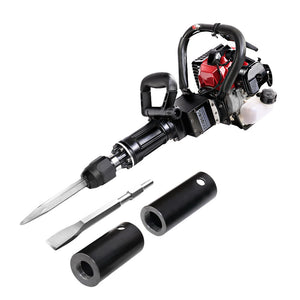 GIANTZ 2in1 Petrol 36cc Pile Post Driver and Jack hammer Star Demolition Jackhammer