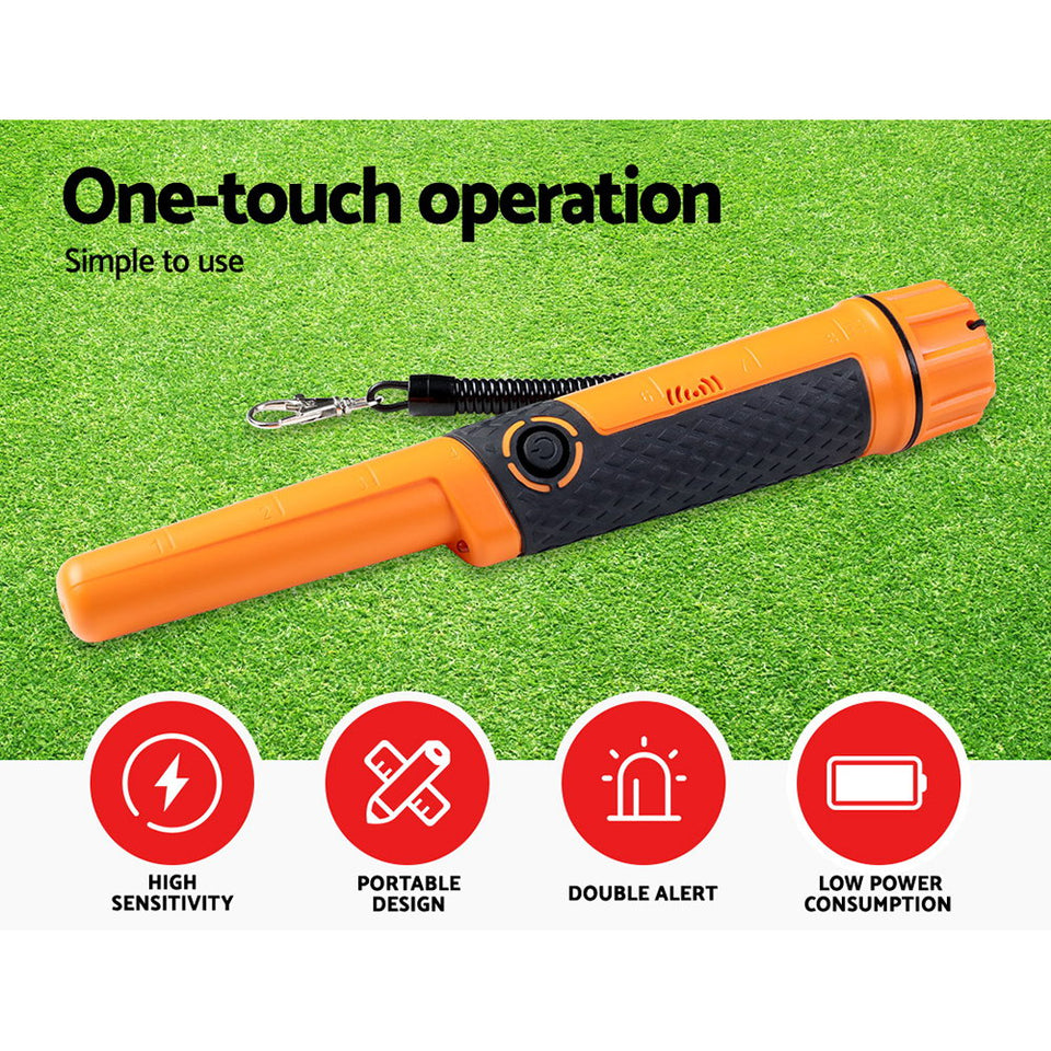 Portable Handheld Pinpointer Metal Detector Automatic Waterproof Hunter?