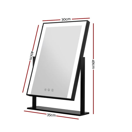 Embellir Hollywood Makeup Mirror With Light LED Strip Standing Tabletop Vanity