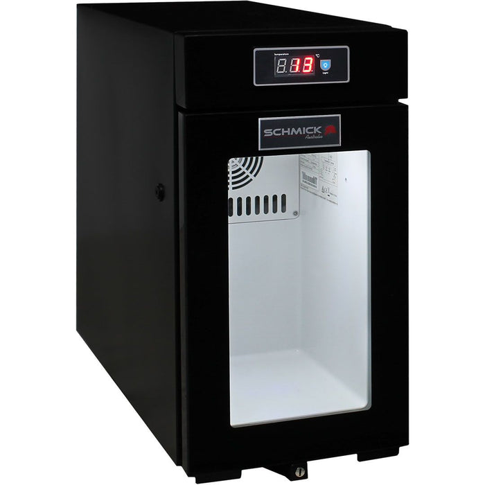 Mini Bar Fridge Made For Milk Storage Under 4°C - For Use With Coffee Machines 9Litre Schmick SK-BR9C MODEL: SK-BR9C