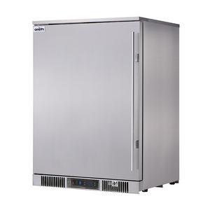 Outdoor Rhino ENVY 1 Door Bar Fridge Coldest Beer 43ºC+ Best Alfresco 316 Stainless Solid Door Quiet Left Hinge MODEL: ENV1L-SD