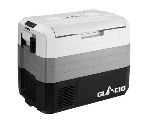 Glacio 65L Portable Fridge Freezer Fridges Cooler Camping 12V/24V/240V Caravan Boating Car