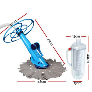 Aquabuddy Swimming Pool Cleaner Floor Climb Wall Automatic Hose Leaf Catcher
