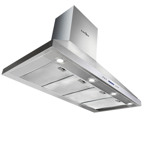 DEVANTI 1500mm Commercial BBQ Rangehood - Silver