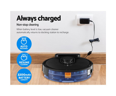 Robot Vacuum Cleaner Robotic LDS Distance Sensor Automatic Carpet Floor Mop