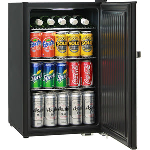 Music Roadie Case Retro Mini Bar Fridge 70 Litre Schmick Brand With Opener MODEL: HUS-BC70B-RC