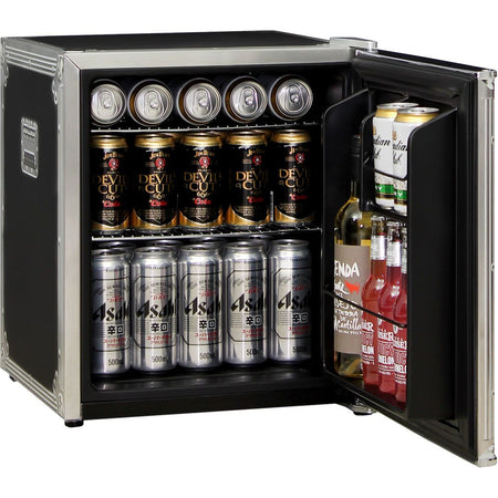 Speaker Amp Design Mini Bar Fridge - Customise The Logo/Message No Charge - A Great Gift Idea! MODEL: HUS-BC46B2-AMP