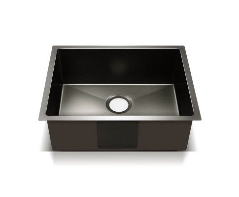 Cefito 600 x 450mm Stainless Steel Sink - Black