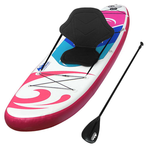 Our Weisshorn Stand-up Paddle Board is designed to suit the beginner paddler as well as a seasoned and easily fits both paddler and passenger for hours of maximum enjoyment. Better still, it is made from durable drop-stitch core material and easy to inflate and deflate, with similar build qualities that you will find with its pricier fibreglass counterparts. It maintains rigidity and toughness with a thickness of 15cm and has a weight capacity of up to 185kg.