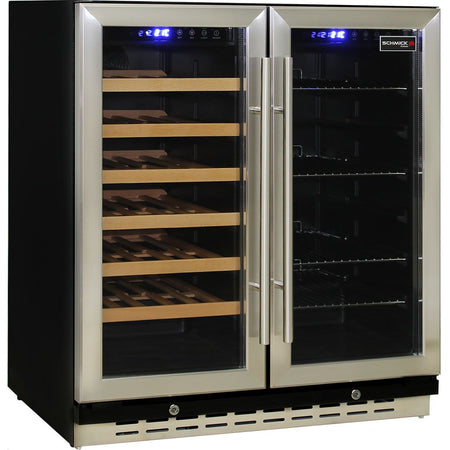 Under Bench Beer And Wine Dual Zone Bar Fridge MODEL: JC165