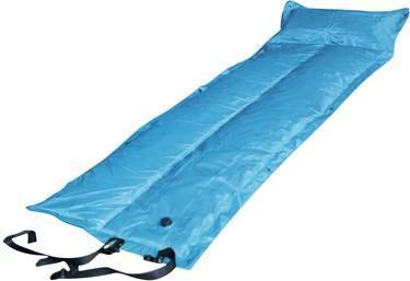 Trailblazer Self-Inflatable Foldable Air Mattress With Pillow - LIGHT BLUE
