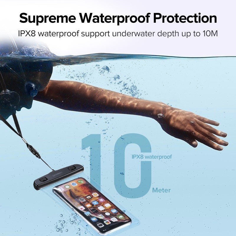 UGREEN Mobile Waterproof Bag Black 60959