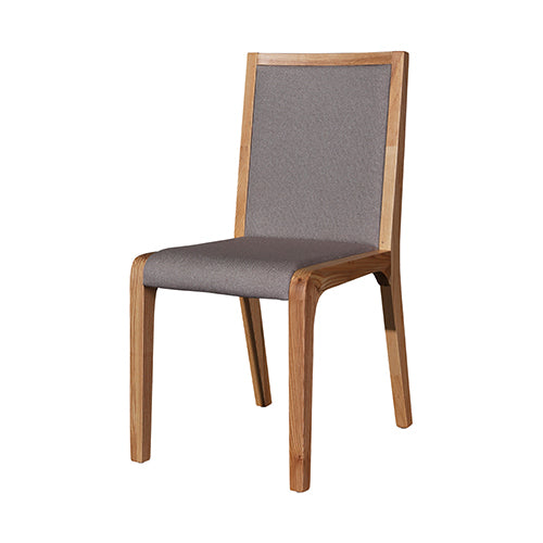 2X Galaxy Dining Chair Grey and Ash Colour