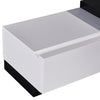 Grandora TV Cabinet Black & White Glossy Colour